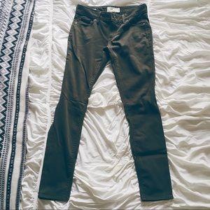 Lucky Brand Lolita Skinny Stretch Army Green Jeans
